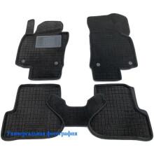 Гибридные коврики в салон BMW 5 (F10) 2011-2013 (AVTO-Gumm)