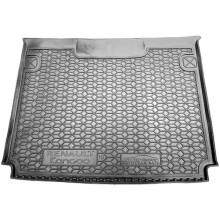 Автомобильный коврик в багажник Renault Kangoo 2 2008- пасс. (Avto-Gumm)