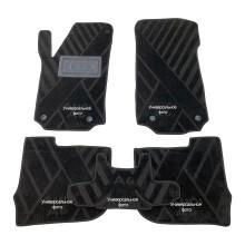 Текстильные коврики в салон Mercedes GL (X166) 12-/GLS 14- (7 мест) (AVTO-Tex)