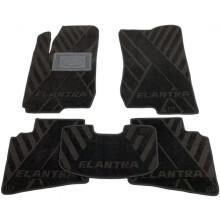 Текстильные коврики в салон Hyundai Elantra 2006-2011 (HD) (AVTO-Tex)