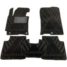 Текстильные коврики в салон Hyundai Elantra 2011- (MD) (AVTO-Tex)