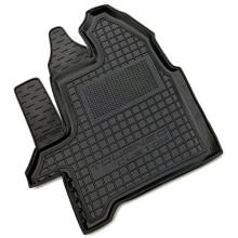 Водительский коврик в салон Ford Custom 2012- (1+1/1+2) (Avto-Gumm)