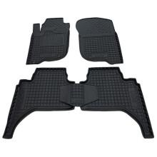 Автомобільні килимки в салон Mitsubishi L200 2006- (Avto-Gumm)
