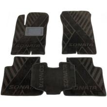 Текстильные коврики в салон Hyundai Sonata NF/6 2005-2010 (AVTO-Tex)