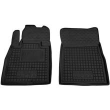 Передние коврики в автомобиль Nissan Micra (K13) 2010- (Avto-Gumm)