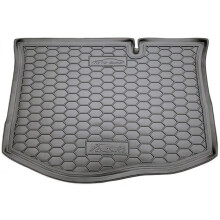 Автомобильный коврик в багажник Ford Fiesta 2015- (Avto-Gumm)