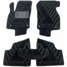 Текстильные коврики в салон Opel Astra H 2004- Hb/Un (AVTO-Tex)